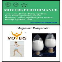 D-aspartate de magnésium de qualité alimentaire de haute qualité