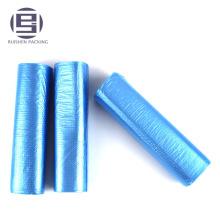Bolsas de basura plásticas azules baratas