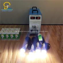 MIni kits de luz solar con bombillas LED