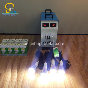 MIni kits de luz solar con bombillas LED
