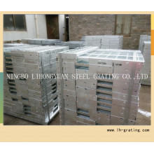 Hot Dipped Galvanized Steel Stair Tread with Nosing
