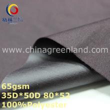 100% полиэстер Pongee крашение ткани для одежды рубашку (GLLML329)