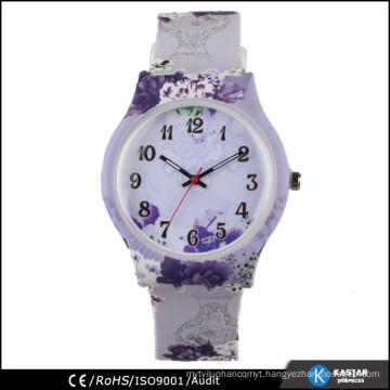 fashion silicone floral watch 2015 vogue
