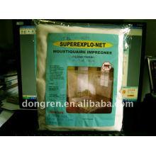 Filets de moustiques traités par insecticide