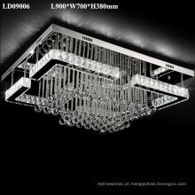candelabro simples conduziu luzes internas da lâmpada do teto