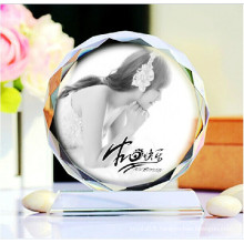 Hight Quality Engraving Crystal Glass Photo Frame