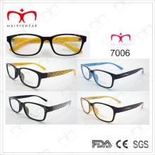 Tr90 marco óptico para los hombres de moda (7006)