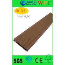 Decking compuesto de WPC Ecotech, CE, RoHS, ISO9001, ISO14001)
