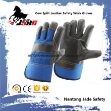 Dark Cowhide Furniture Leather Hand Safety Luva de trabalho industrial