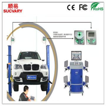 Double Screen Wheel Alignment Machine