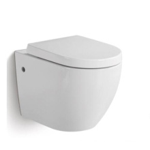 Ceramic Wall Hung Rimless Toilet