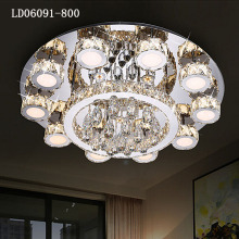 Light fixtures Luxury K9 Crystal Staircase chandelier