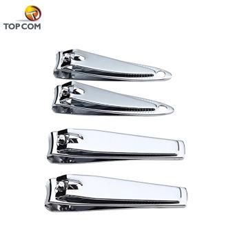 barato Amostra grátis OEM serviço prata aço carbono dedo e dedo do pé unha tosquiadeiras marcas personalizadas cortadores de unha