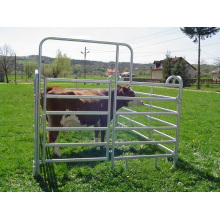 China Factory Supplied Fence Panels/Oval Pipe Galvanized Cattle Panel/6 Bars Steel Cattle Corral Panels/Hot Dipped Galvanized Cattle Livetsock Panels