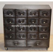 Retro Vintage Industrial Drawer Cabinet