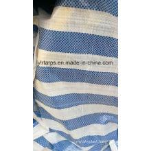 Blue-White Tarpaulin Cover, Waterproof Tarpaulin