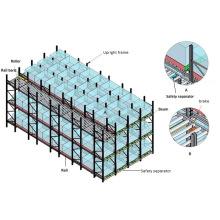 Adjustable Warehouse Storage Heavy Duty Gravity Roller Racking