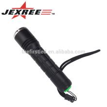 JEXREE Imperméabilisation design petite taille haute luminosité CREE XM-L2 mini dynamo led torche