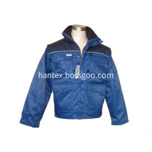 Safety garments mens parka winter jacket