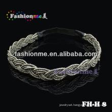 elastic material for headbands