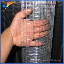 Malla de alambre soldada cuadrada electro-galvanizada