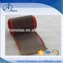 PTFE Cinta transportadora de malla de teflón de secado con kevlar guider