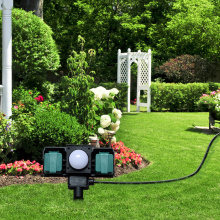 Outdoor Garden Socket with Sensor