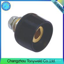 Tig antorcha consumibles piezas de soldadura 35-50mm2 socket panel