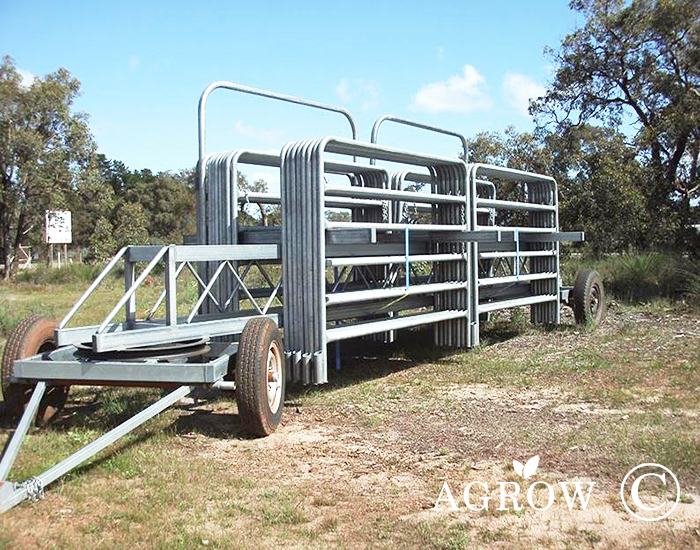 Rail Cattle Panel