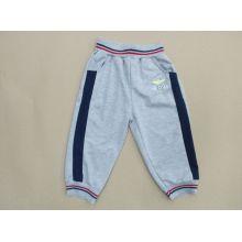 French Terry Boy calças em desgaste de crianças (BP005)