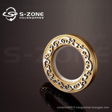 Anneau en or anneau en rideau pour boucle de rideau décoratif