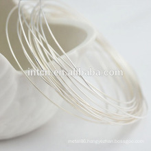 Factory supplies High light smooth findings silver wire
