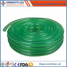 Verstärkter klarer PVC-umsponnener Schlauch