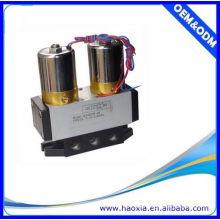 4 / 2Way Pneumatisches AC220V elektrisches Steuerventil mit Q24DH-08