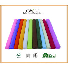 50*300cmhot Decorative Color Decoration Crepe Paper/Crepe Paper Sheets