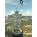 Heißer verkaufender umgekehrter Dreieck-Recycler-Glaswasser-Rohr-Großhandelspreis