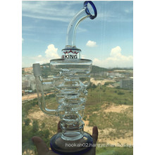 New Design 10inch Recyler New Glass Water Pipe with Wholesale Price