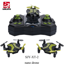 New product headless nano drone folding micro FPV drone with 0.3MP for gift kids SJY-XT-2 PK SYMA X12S