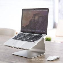 Suporte de alumínio do carrinho do portátil para Apple Macbook, suporte do computador de caderno