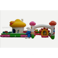Custom Outdoor Toy Inflatable Bouncy Jumping Slide Castle