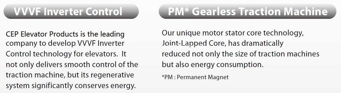 PM Gearless Traction Machine