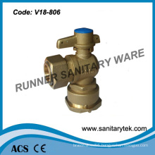 Brass Lockable Angle Ball Valve