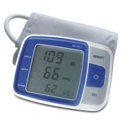 Upper Arm Blood Pressure Monitor, Large LCD, WHO and IHB DetectNew