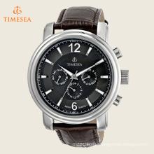 Men′s Swiss Quartz Movement Wrist Watch with Leather Strap 72510