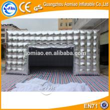 China fabricantes de tenda inflável, barraca inflável do gramado para a venda, barraca inflável do cubo