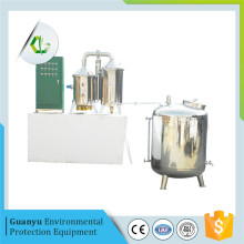 Electric laboratory water distillation