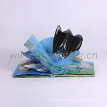 3D cartoon hardcover children story cardboard book printing