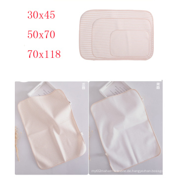 Natur Farbe Baby Musselin Wrap Swaddle Windel Pad