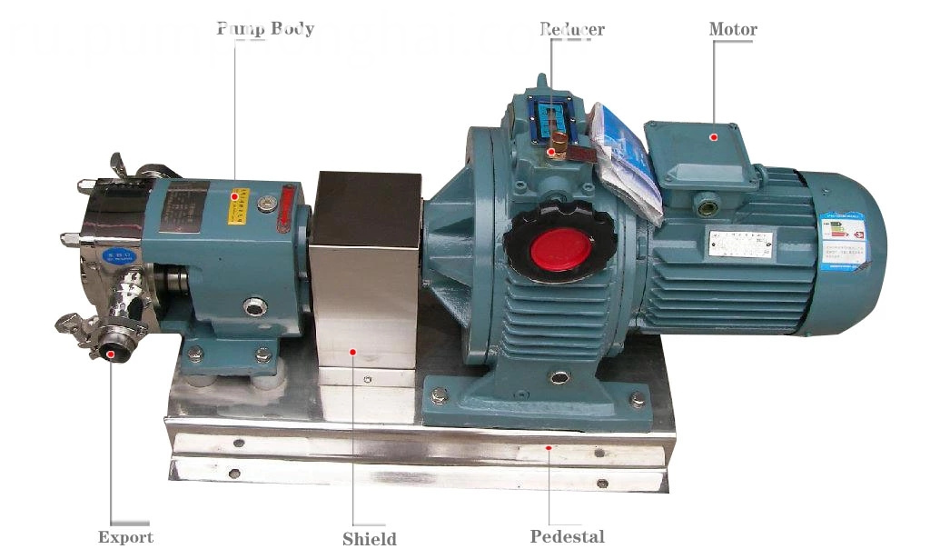 sanitary transfer pump