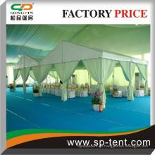 15 м алюминиевые рамы для коммерческих палаток для мероприятий с ПВХ-окнами